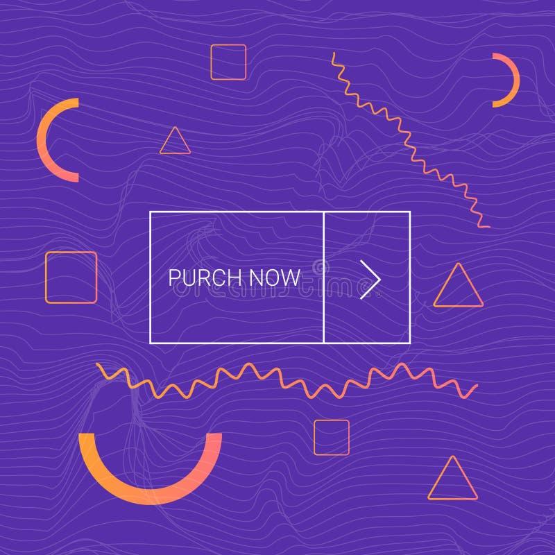 Flüssiges futuristisches Entwurfsplakat Flüssiges Farbhintergrunddesign stockfotografie