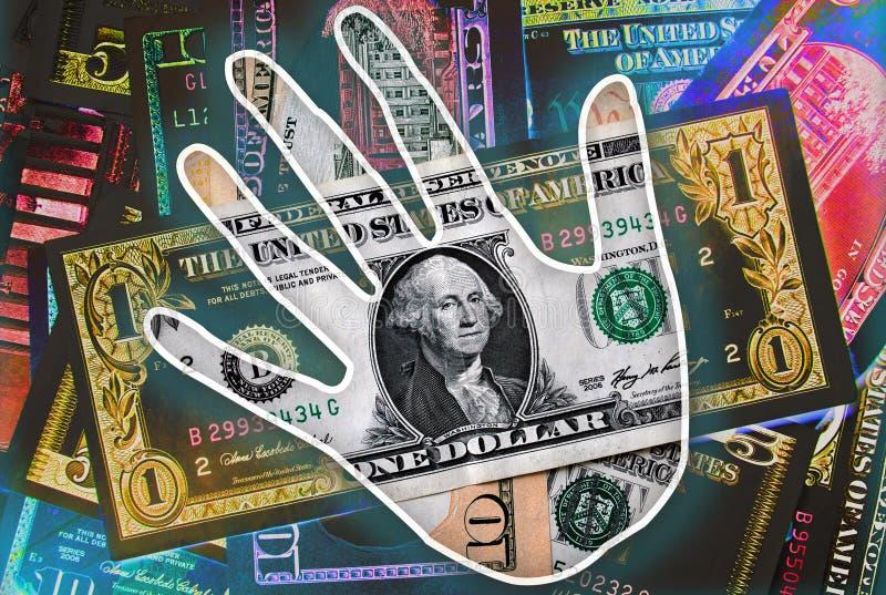 Flüssiges Geld lizenzfreies stockbild