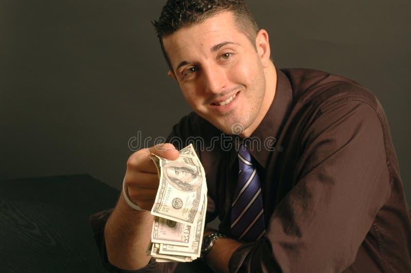 Flüssiges Geld 2469 stockfoto