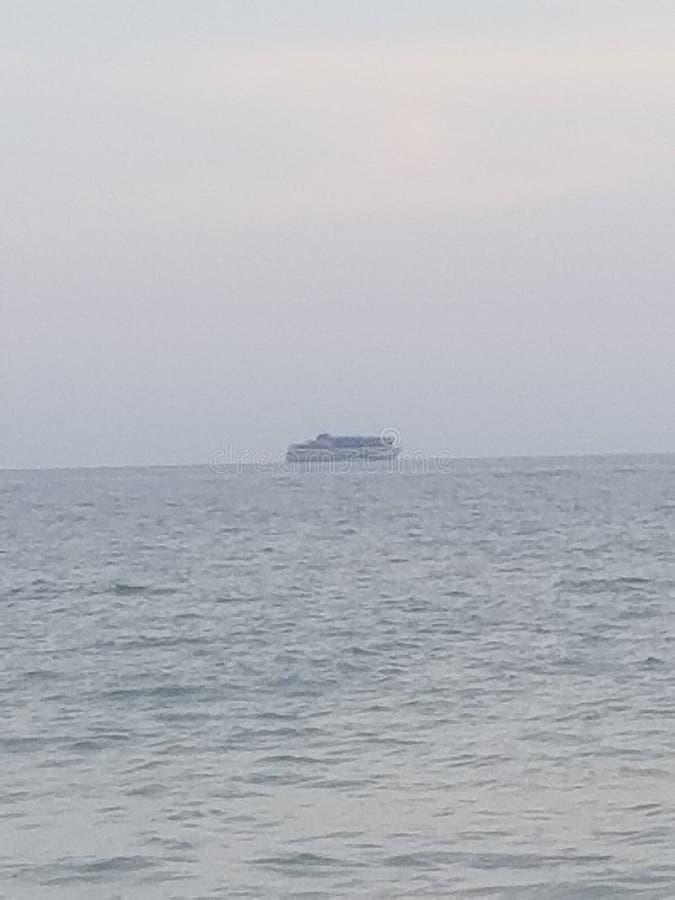 FL海滩 库存图片