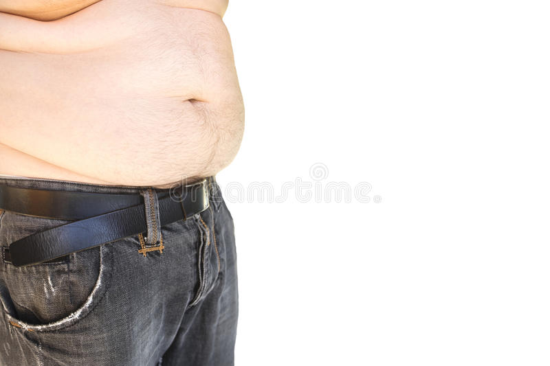 Fat Man With Hairy Belly Stock Photo Image Of Belly - 22220070-1812