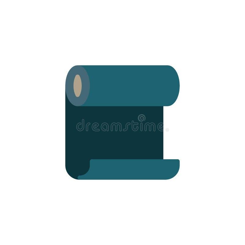 Flachbild-Symbol für Vinyl-Tapeten lizenzfreie abbildung