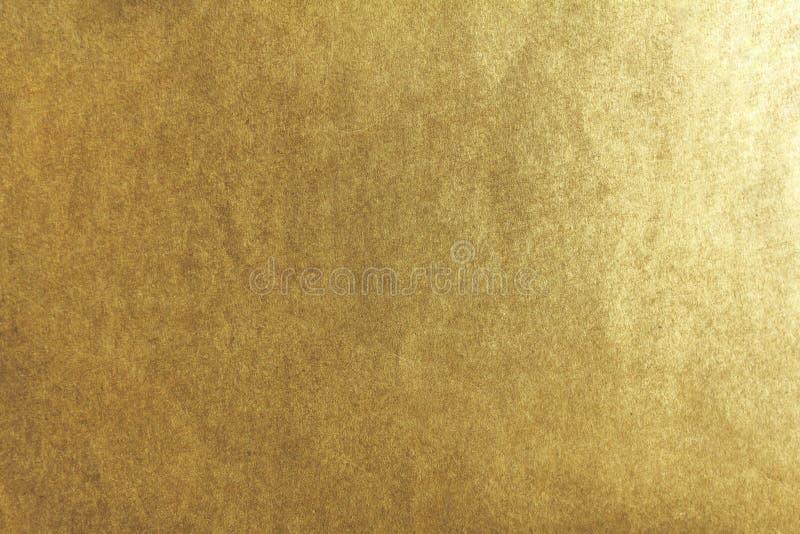 Flache goldene Beschaffenheit lizenzfreies stockfoto