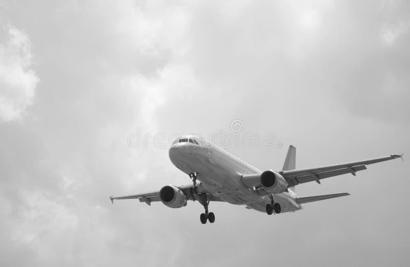 Flache Landung stockbilder
