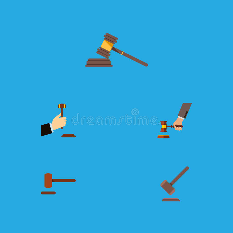 Flacher Ikonen-Hammer-Satz des Gerichtes, Gesetz vektor abbildung