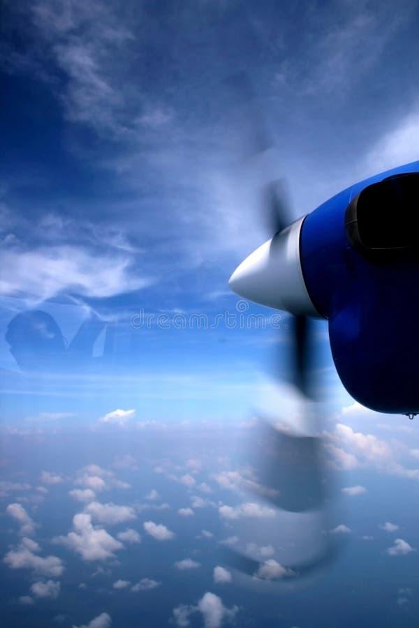 Flacher Propeller stockbilder