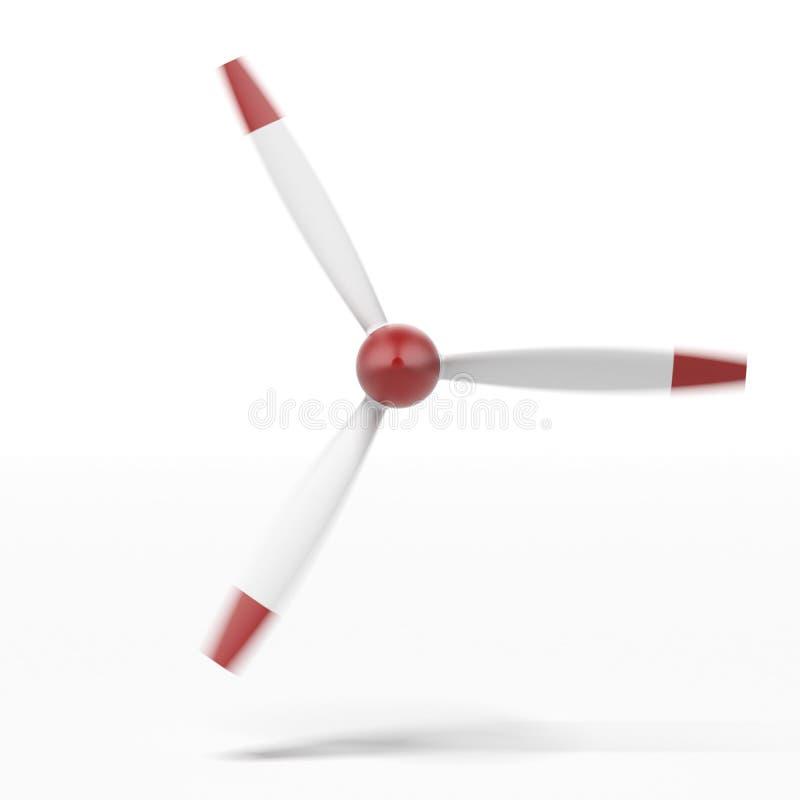 Flacher Propeller stock abbildung