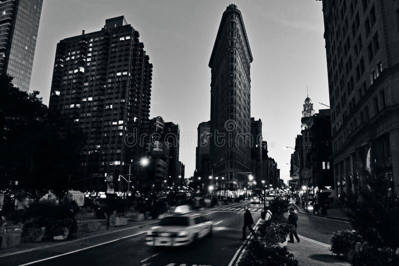 Flaches Eisengebäude in Manhattan New York City stockbilder
