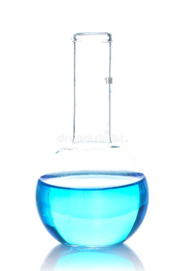 Flacon chimique de laboratoire image libre de droits