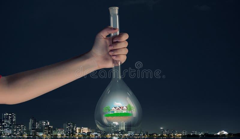 Download Flacon Et Les Objets Dans Lui Image stock - Image du médecine, science: 56479265