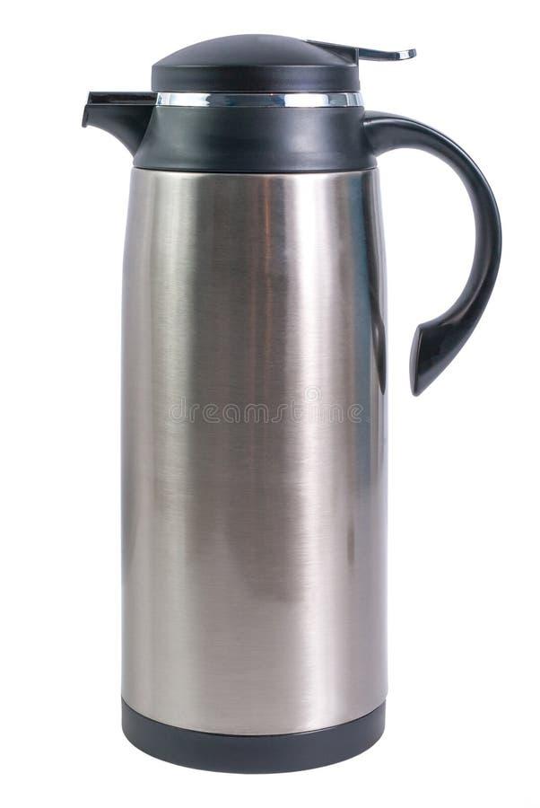 Flacon thermo pour les boissons chaudes image libre de droits