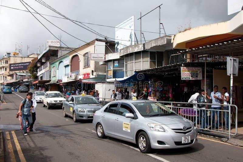 Flacq centrum miasta, Mauritius fotografia stock