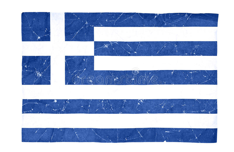 flag грек стоковые фото