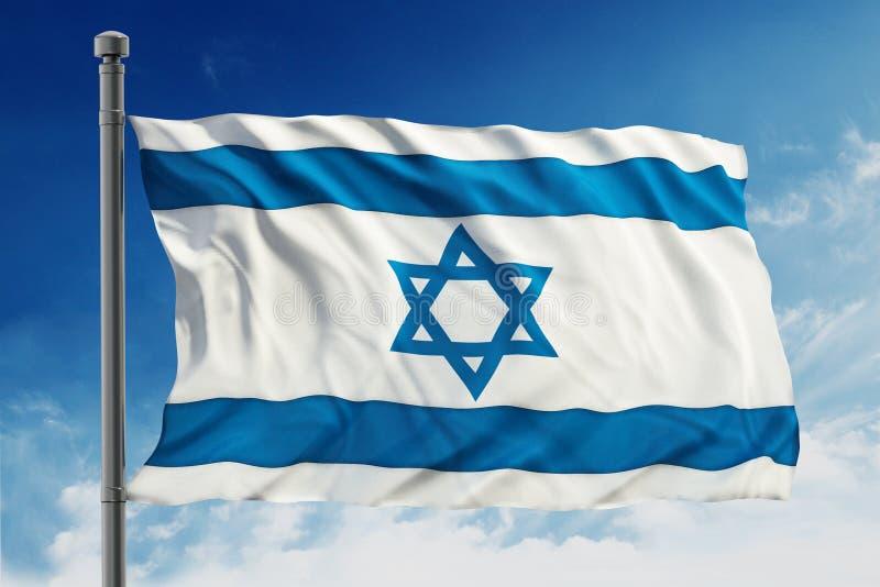 flag Израиль стоковое изображение