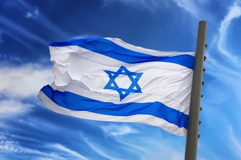 flag Израиль стоковое изображение rf