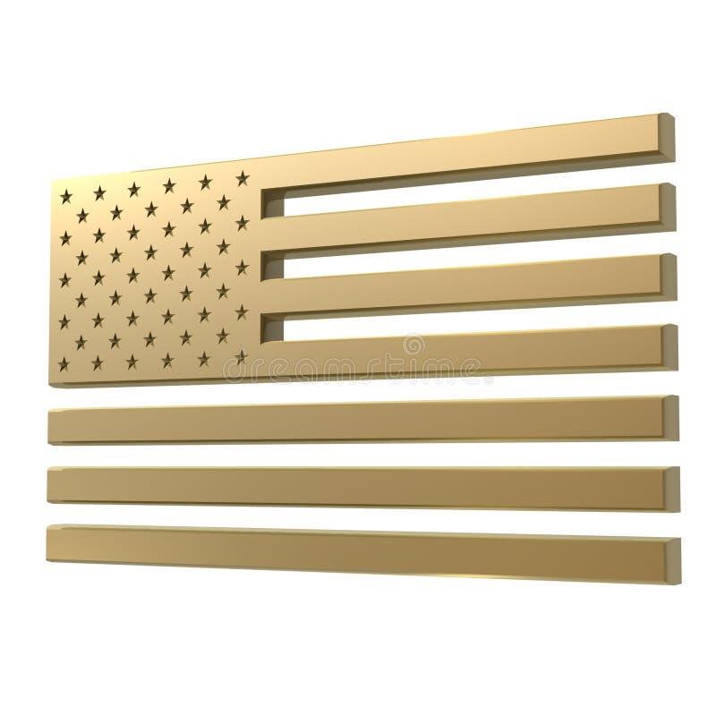 flag мы иллюстрация вектора