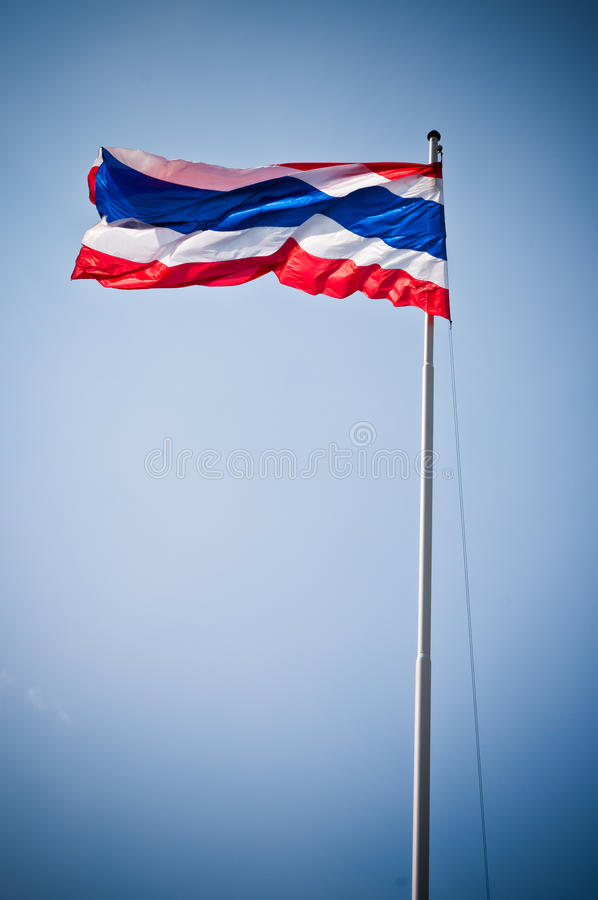 flag Таиланд стоковые изображения