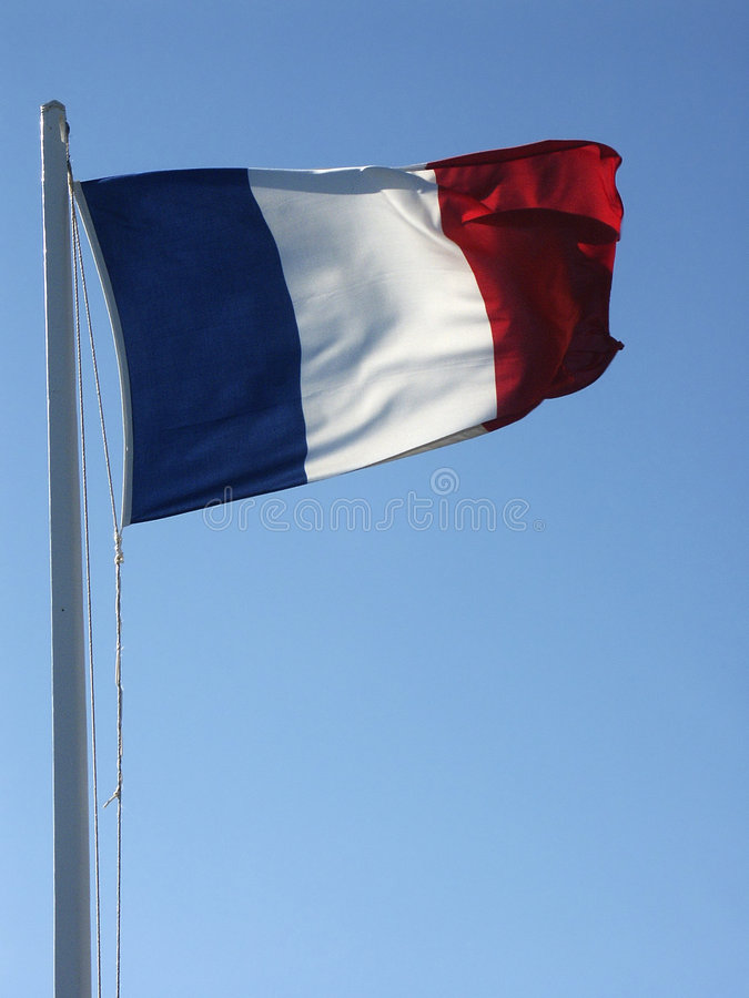 Download Flag #01 stock image. Image of color, staff, clear, french - 4859291