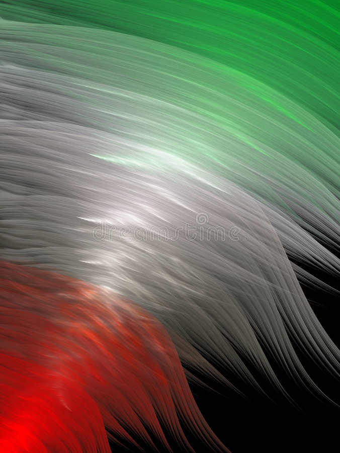 Download Flag stock illustration. Image of color, border, beautiful - 1105574
