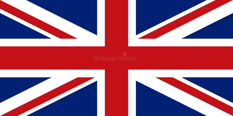 Great Britain, United Kingdom flag. UK flag icon. Flag of United Kingdom. Great Britain flag vector illustration