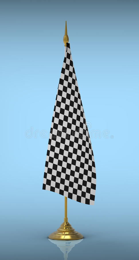Download Flag stock illustration. Image of finishing, reflection - 22005060
