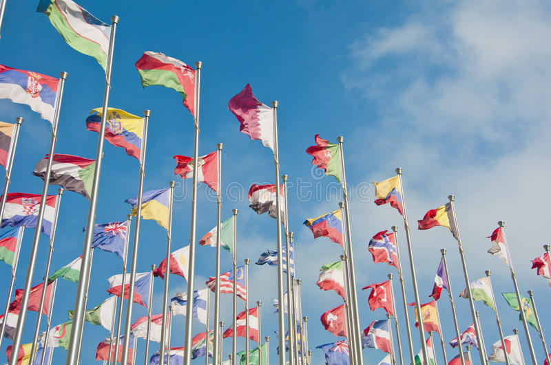 Download Flag stock image. Image of flagpoles, flag, color, wind - 26541379