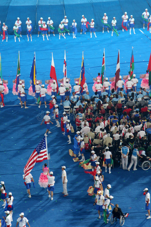 Download Flag editorial stock photo. Image of stadium, chinese - 6309718