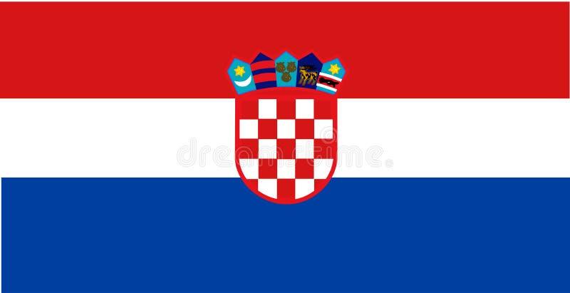 Flag of royalty free illustration