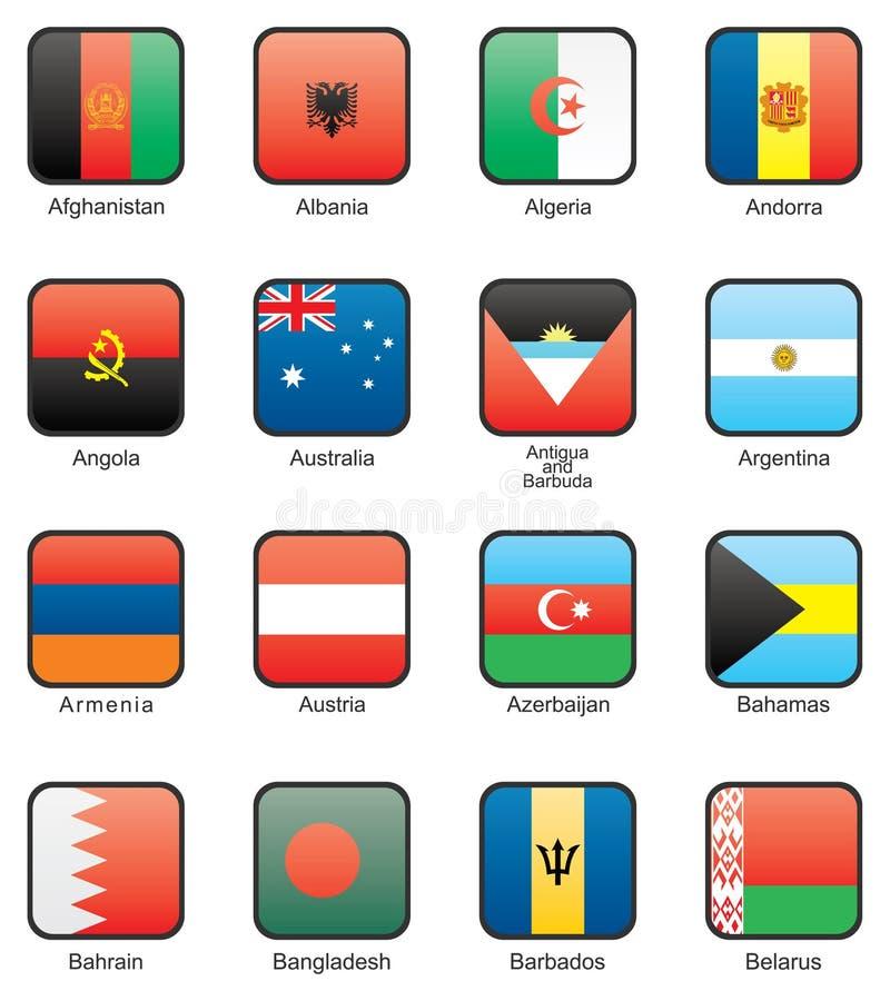 Flag royalty free illustration