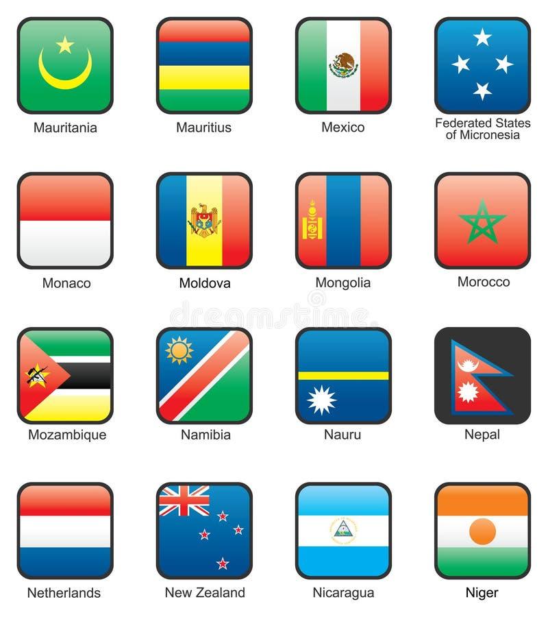 Download Flag stock vector. Illustration of mauritius, land, mongolia - 9976156