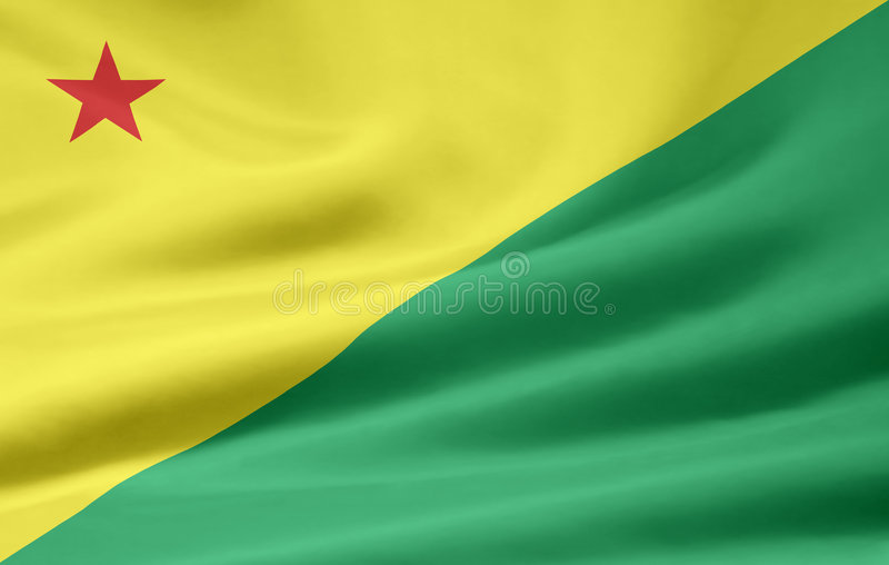 Flag Of Acre Royalty Free Stock Photo