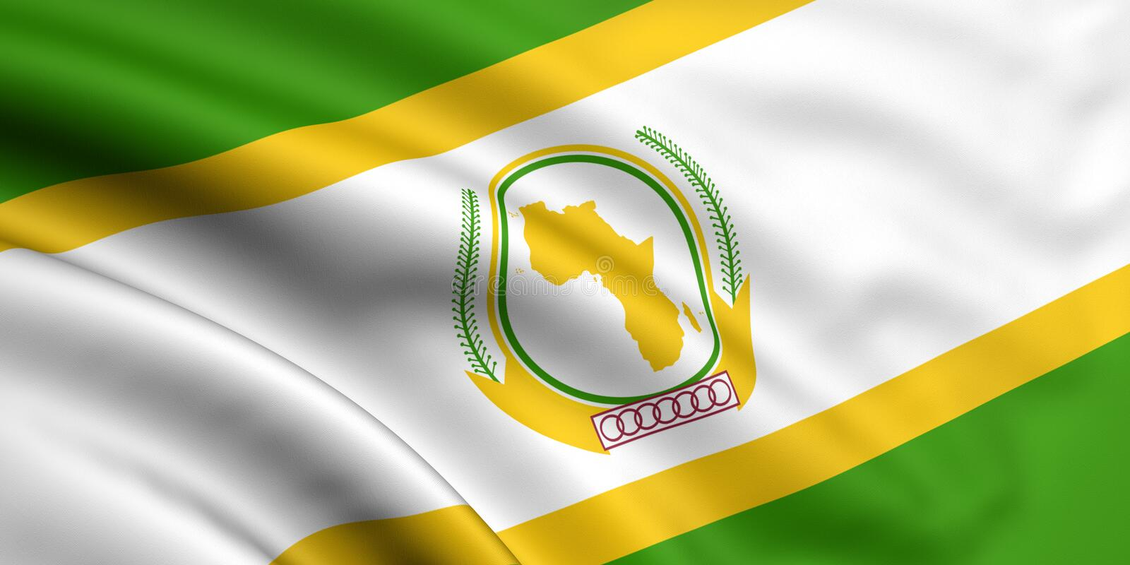 Download Flag Of African Union stock illustration. Illustration of african - 5883298