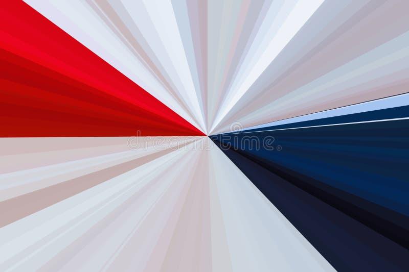 Flag american background usa america. beam stock illustration