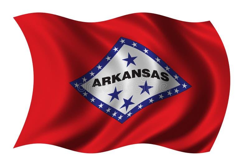 Download Flag Of Arkansas Stock Photo - Image: 1721570