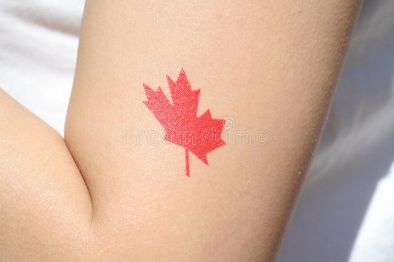 Flag arm print royalty free stock images