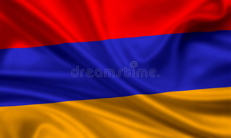 Download Flag of armenia stock image. Image of emblem, waving - 16330215
