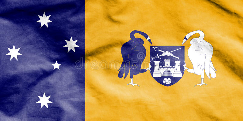 Flag of Australian Capital Territory. stock illustration