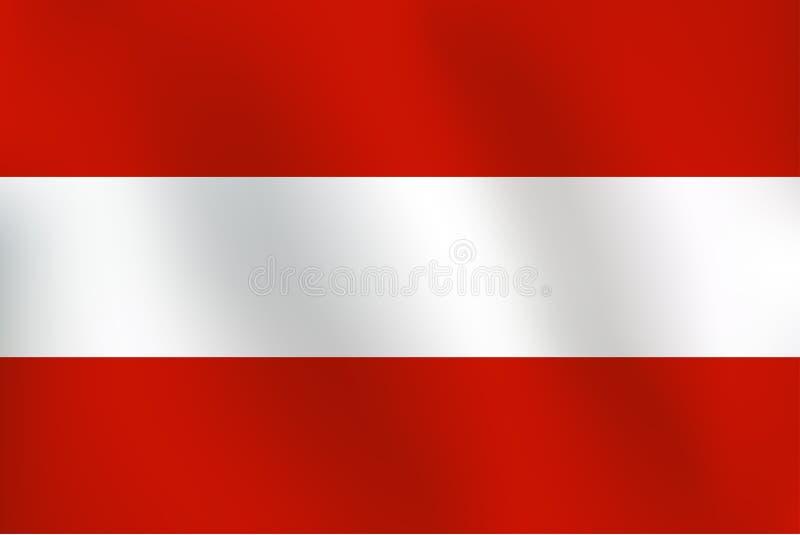 Download Flag Of Austria - Vector Illustration Stock Vector - Illustration: 92627730