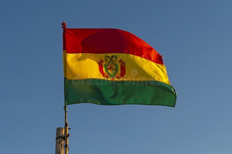 Flag of Bolivia, South America royalty free stock photos