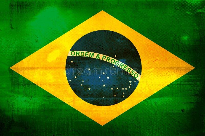 Download Flag of Brazil stock illustration. Image of faded, border - 2853578