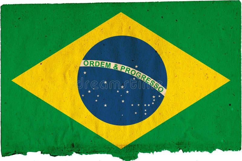 Download Flag of Brazil stock illustration. Illustration of decay - 3969861