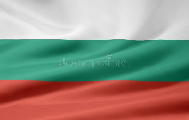 Flag of Bulgaria royalty free stock photo