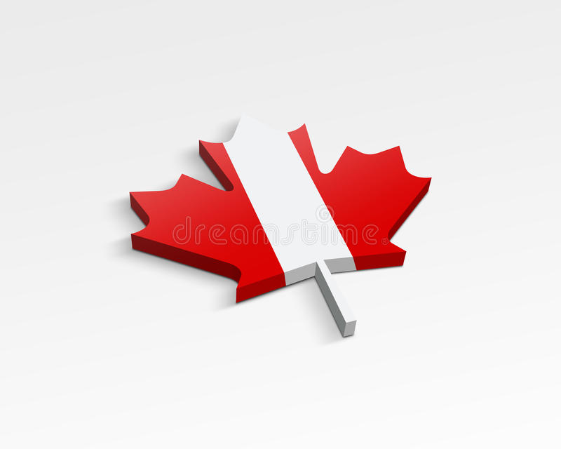 Download Flag of Canada stock illustration. Image of plant, america - 11436724