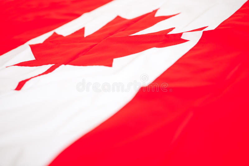 Download Flag from Canada stock photo. Image of national, maple - 24720804