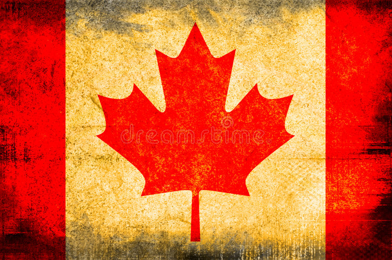 Download Flag of Canada stock illustration. Image of antique, country - 2817258