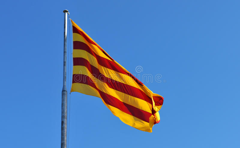 Download Flag of Catalonia Spain stock photo. Image of horizontal - 28055768