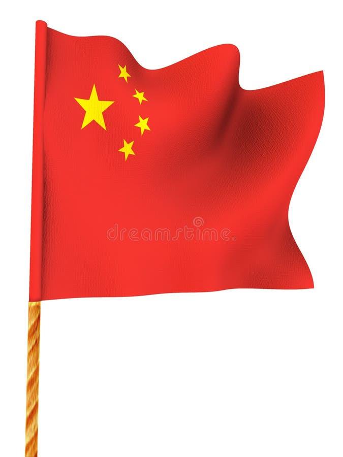 Flag. China vector illustration