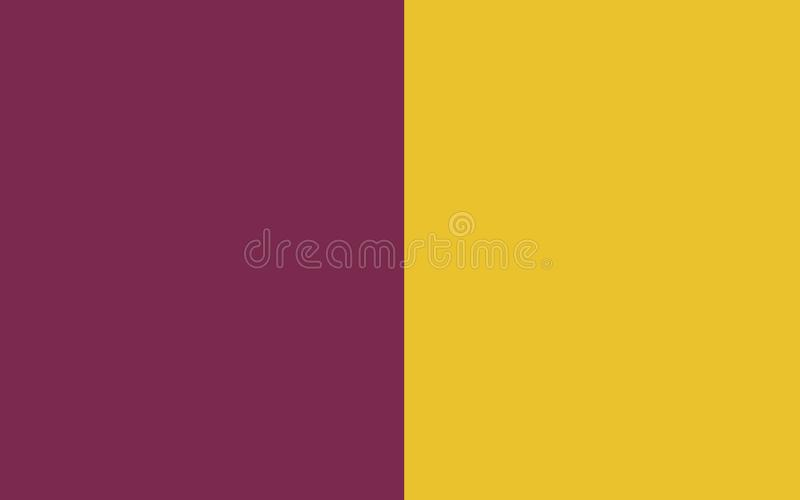 Flag of County Wexford is a county in Ireland. It is in the province of Leinster and is part of the South-East Region royalty free illustration
