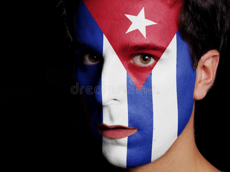 Flag of Cuba royalty free stock images