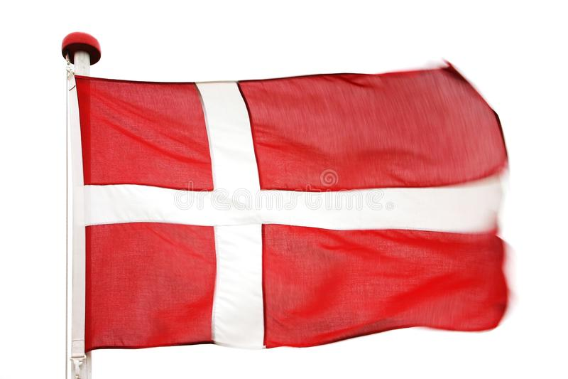 Flag Of Denmark Stock Photos